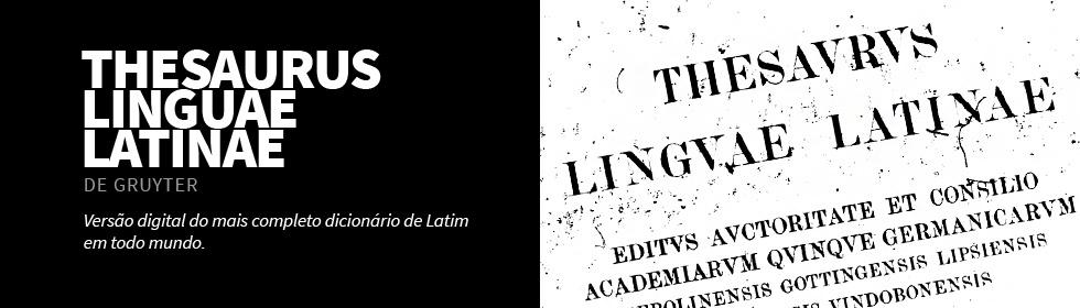 De Gruyter (Thesaurus Linguae Latinae)